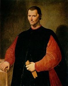 Niccolò Machiavelli (particolare) ritratto da Santi di Tito